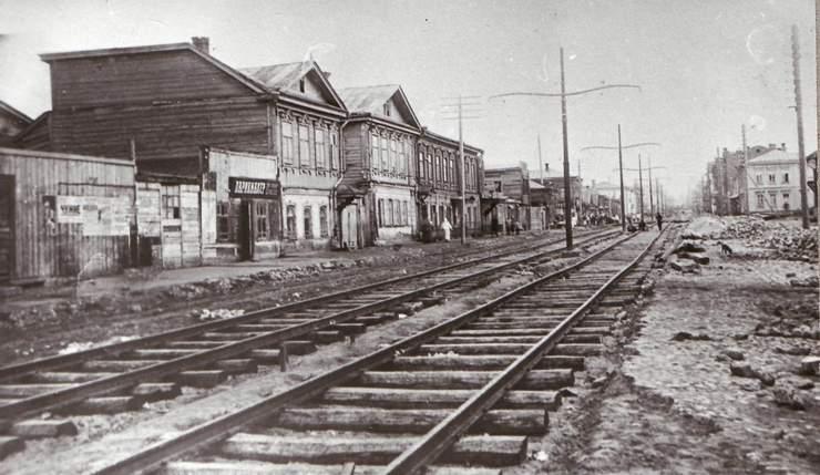 Уральская ул. в 1930 году